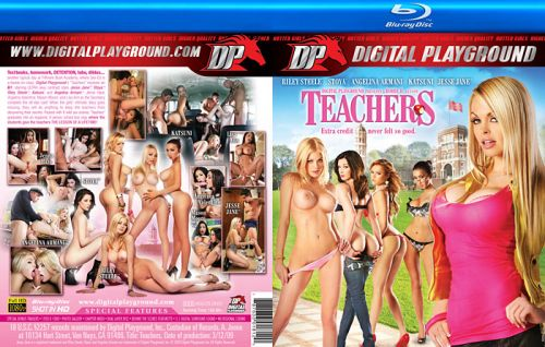 DIGITAL PLAYGROUND Teachers (Blu-Ray)
