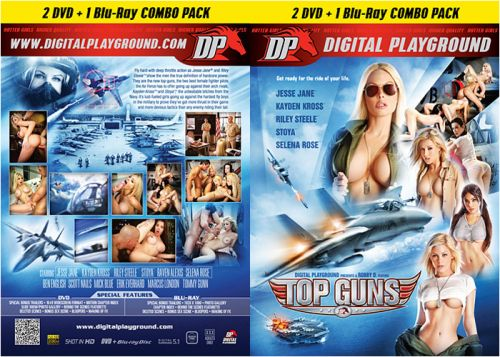 DIGITAL PLAYGROUND Top Guns (1 Blu-Ray + 2 DVD Combo Pack)