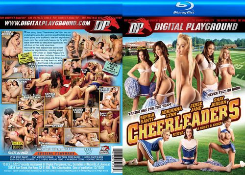 DIGITAL PLAYGROUND Cheerleaders (Blu-Ray)