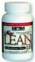 Max muscle Lean EPHEDRINE Free 120 kapsúl