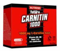 Nutrend Carnitin 1000, 10 monodóz x 25 ml