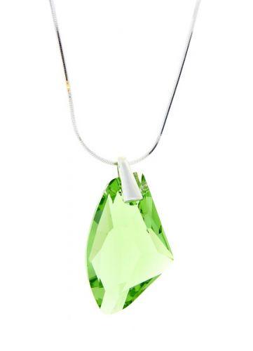 Náhrdelník Swarovski Peridot Crystal