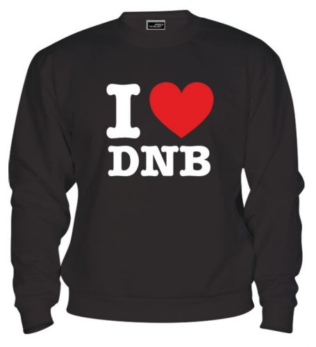 Mikina - I Love DNB