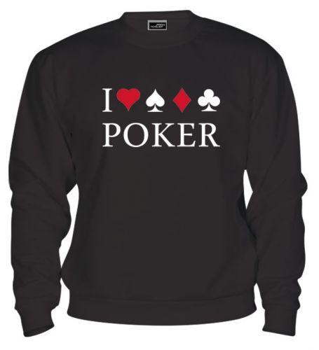 Mikina - I Love Poker