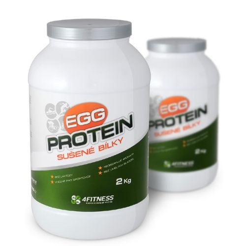 Sušené bielka - Egg Albumin 2kg 4fitness