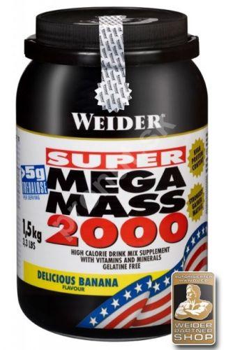 Weider Mega Mass 2000 - 1500g