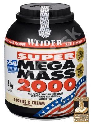 Weider Mega Mass 4000 - 3000g