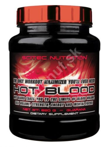 SCITEC Nutrition HOT BLOOD 820g