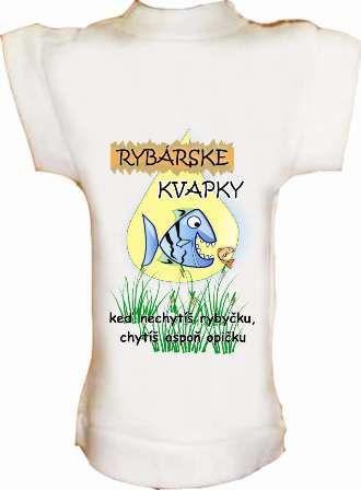 Tričko na fľašu Rybárske kvapky