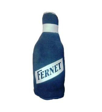Vankúš v tvare fľašky fernetu