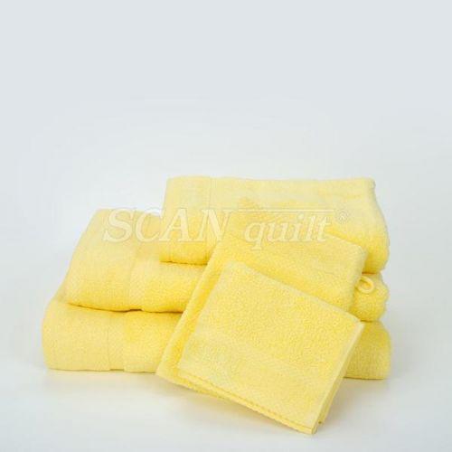 QUILTEX - Froté uteráky, osušky BAMBOO svetložltá - 30x50 cm
