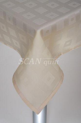 QUILTEX - Obrus 120x140cm, KAN 23976 krémová