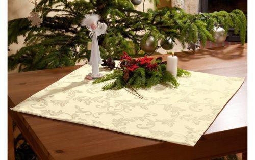 EVENIT - Vianočný obrus zlatý 60x60 cm - Polyester