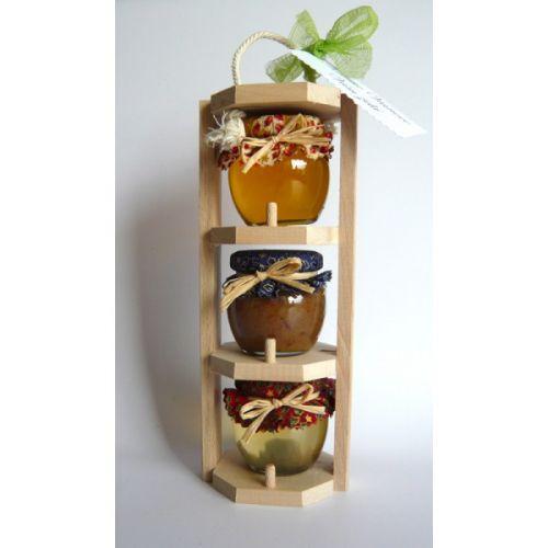 - Darčekový balíček - 3 poschodový nosič med / škorica cena od 0,00 €