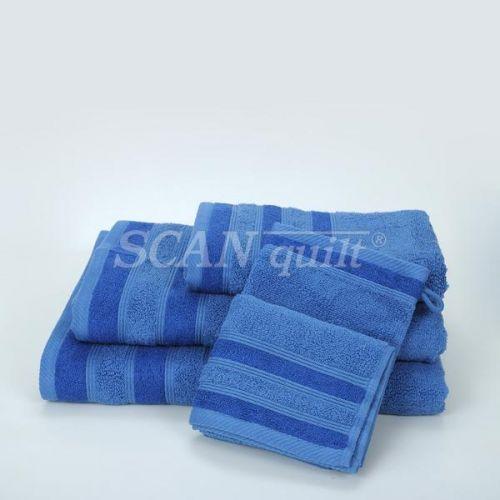 QUILTEX - Froté uteráky, osušky BAMBOO petrolejová - 30x50 cm