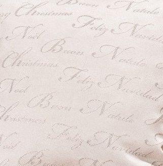 EVENIT - Metráž na vianočné obrusy strieborná - Polyester