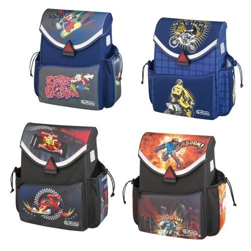 HERLITZ - Školská taška COMPACT pre chlapcov