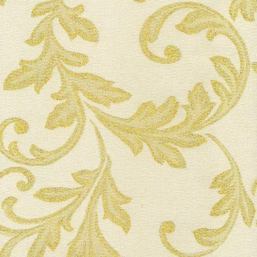 EVENIT - Metráž na vianočné obrusy zlatá - Polyester