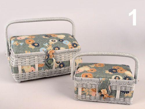 - Košíky na šijace potreby DANKA zelena č.1 - 2 kusy súprava cena od 0,00 €