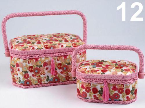 - Košík na šijace potreby Mia - 2 kusy súprava, 12-ružový cena od 0,00 €