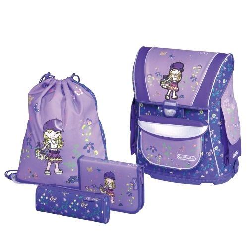 HERLITZ - Školská taška plná MIDI 4-set dievča