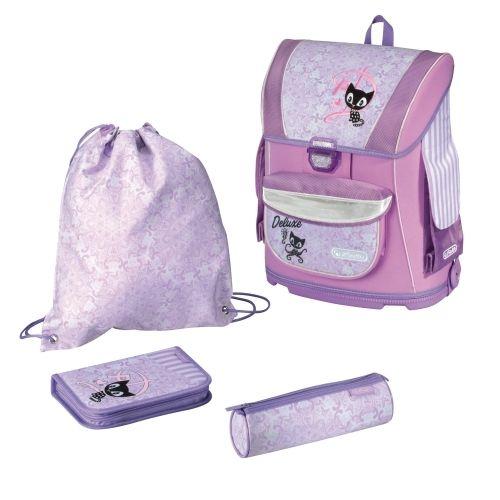 HERLITZ - Školská taška plná MIDI 4-set Deluxe Purple