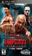 SouthPeak Games TNA Impact Cross the Line pre PSP