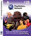 SONY Playstation Network Live Card 25 GBP UK