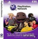 SONY Playstation Network Live Card 35 GBP UK