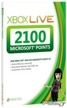 Microsoft points - 2100
