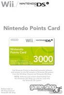 Nintendo Points Card 3000