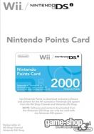 Nintendo Points Card 2000