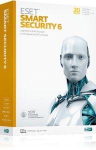 BOX ESET Smart Security verzia 6 pre PC