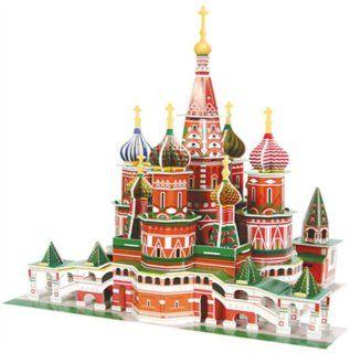 3D puzzle - Chrám Vasila Blaženého cena od 0,00 €