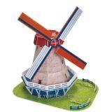 3D puzzle - Holandský veterný mlyn cena od 0,00 €