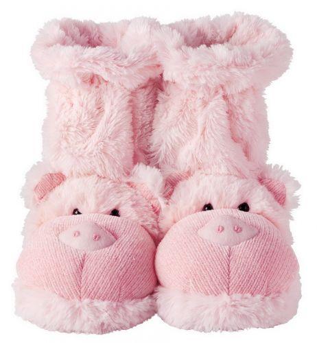 Ponožkové papuče - prasiatko