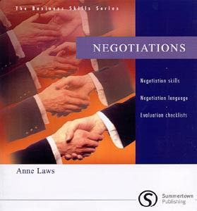 Cengage Learning Services Business Skills Series: Negotiations (Laws, A.) cena od 0,00 €