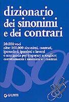 Giunti Editore Dizionario dei Sinonimi e dei Contrari (Perini, E.) cena od 0,00 €