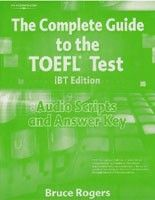 Cengage Learning Services Complete Guide to TOEFL Test Audio Script + Key (Rogers, B.) cena od 0,00 €