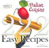 222 Easy Italian Recipes (Barilla, A.) cena od 0,00 €