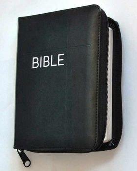 Česká biblická společnost Bible se zipem, umělá černá kůže cena od 0,00 €