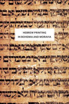 Academia - nakladatelství Hebrew printing in Bohemia and Moravia (Olga Sixtová) cena od 34,36 €