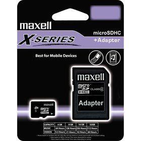 Maxell Micro SDHC Class 4 4 GB