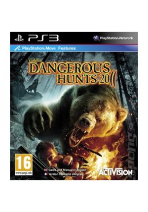 Activision Cabelas Dangerous Hunts 2011 pro PS3