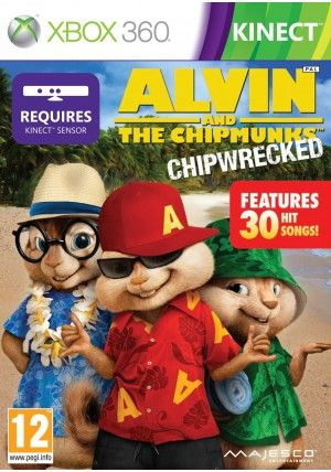 505 GameStreet Alvin and the Chipmunks Chipwrecked pro Xbox 360 cena od 0,00 €