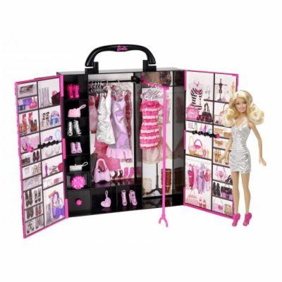 Mattel Barbie Fashionistas kouzelný šatník