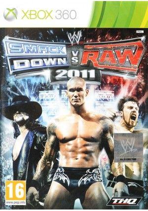 THQ WWE SmackDown! vs. RAW 2011 pro X360