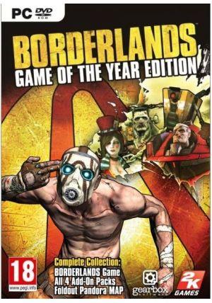 2K Games Borderlands GOTY pro PC cena od 0,00 €