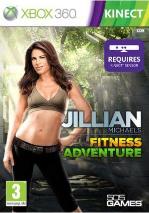 505 GameStreet Jillian Michaels Fitness Adventure pro XBOX 360 cena od 0,00 €