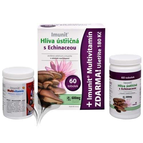 Simply You Imunit Hlíva ústřičná s Echinaceou 60 tob. + Imunit Multivitamín CARS 30 tbl. ZDARMA
